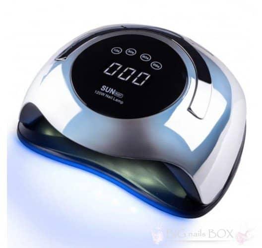 Лампа для сушки нігтів SUN BQ-5T 120 вт, Mirror