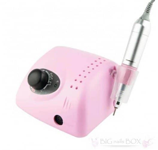 Фрезер ZS-705 (рожевий) 35000 обертів для апаратного манікюру і педикюру