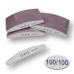 Пилка для нігтів OPI - півколо, 100/100