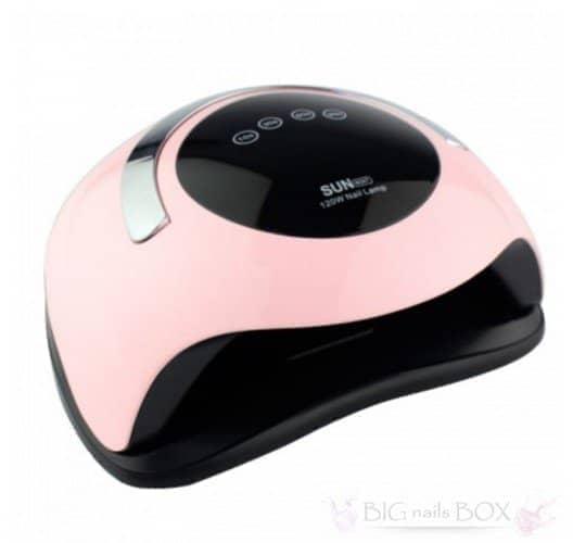 Лампа для манікюру і педикюру SUN BQ-5T 120 вт (рожева)