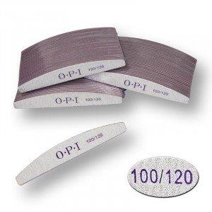 Пилка для ногтей OPI - полукруг, 100/120
