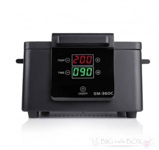 Сухожаровой шкаф стерилизатор SM 360-С (черный) 300вт с электронным управлением