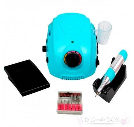 Фрезер Nail Drill DM-212 (синий) 35000 оборотов для аппаратного маникюра
