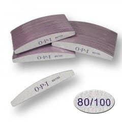 Пилка для ногтей OPI - полукруг, 80/100