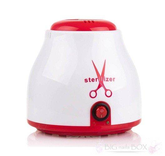 Кульковий стерилізатор, (червоний), гласперленовий SP 9001