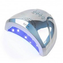 Sun One 48 вт (дзеркально-блакитна) Holographic Uv-Led лампа для маникюра
