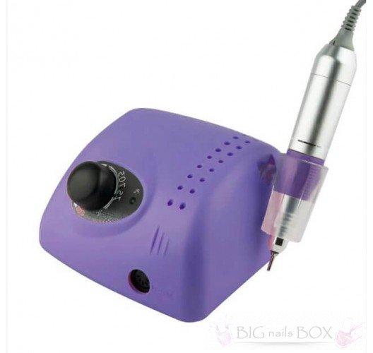 Фрезер ZS-705 (фиолетовый) 35000 оборотов для аппаратного маникюра и педикюра