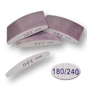 Пилка для ногтей OPI - полукруг, 180/240