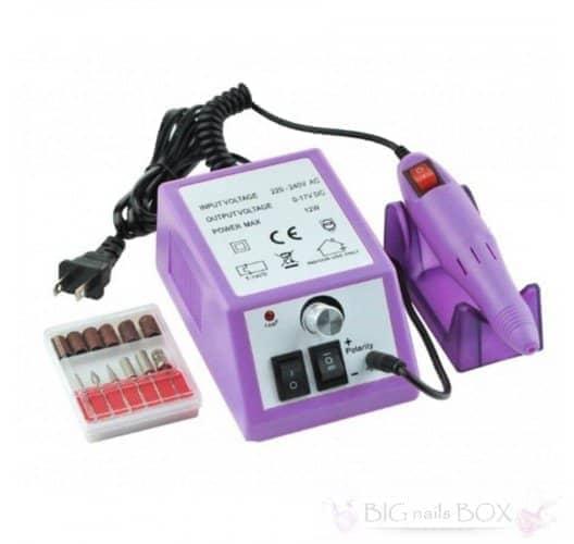 Фрезер Lina Mercedes-2000 (фиолетовый) для аппаратного маникюра