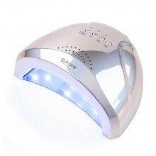 Sun One 48 вт (дзеркально-сіра) Holographic Uv-Led лампа для маникюра