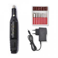 Фрезер-ручка (чорний) для апаратного манікюру 20 000 обертів