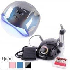 Манікюрний набір з лампою Sun X і фрезером DM-212