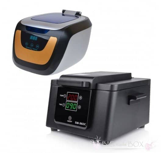 Набор для стерилизации и очистки инструмента с мойкой Jeken (Codyson) СЕ-5700А и сухожаром SM 360-С