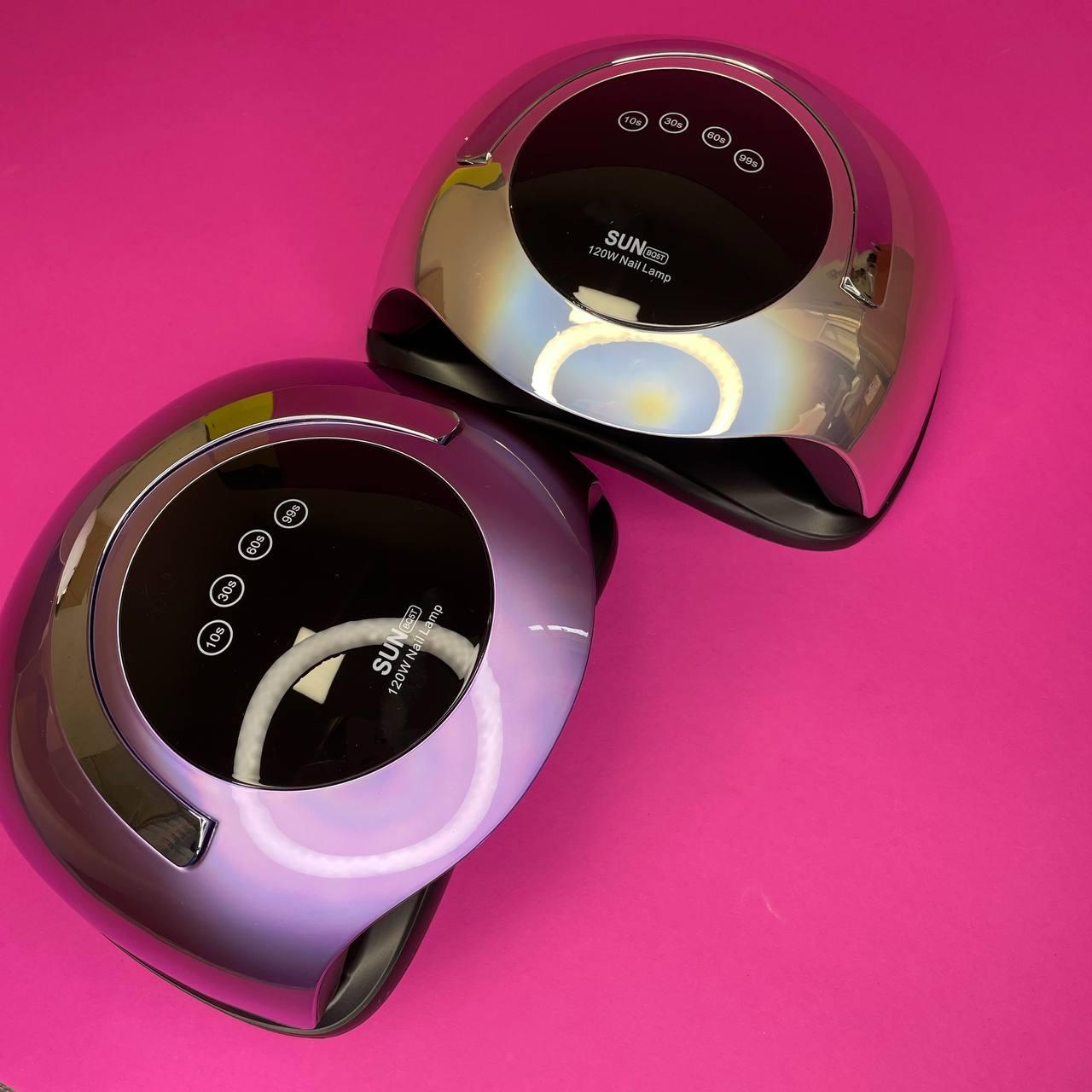 Лампа для манікюру і педикюру SUN BQ-5T 120 вт, Mirror Violet
